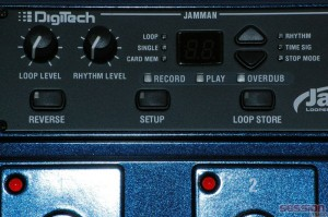 Digitech Jamman Delay Control Panel