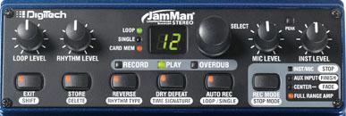 JamMan Stereo Control Panel