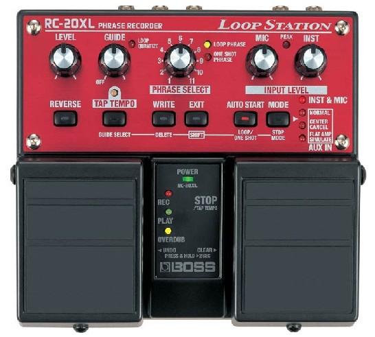 boss rc 20xl loop station looper pedal reviews. Black Bedroom Furniture Sets. Home Design Ideas