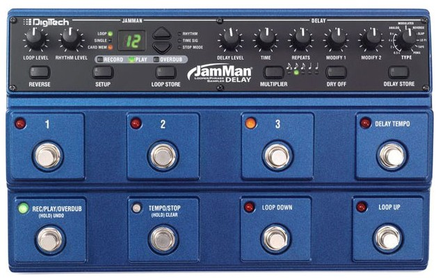 Digitech JamMan Delay Looper/Phrase Sampler
