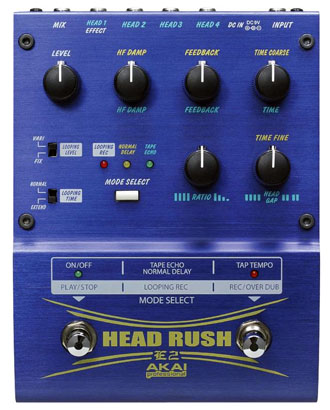 Akai E2 Headrush Looper Pedal