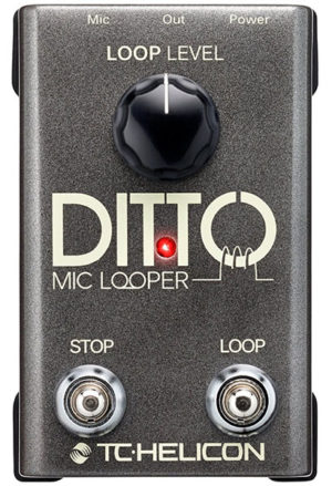 tc helicon ditto mic looper pedal review in depth. Black Bedroom Furniture Sets. Home Design Ideas